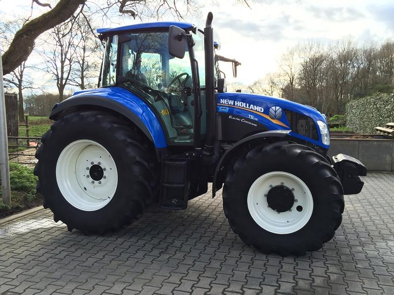 New Holland T5.115 ElectroCommand